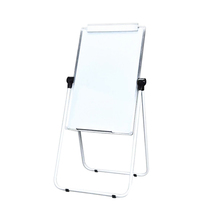 U-Stand Whiteboard Flipchart Easel Table Magnetic Double Sided Flip Chart Whiteboard With Aluminum Black Sliver Frame