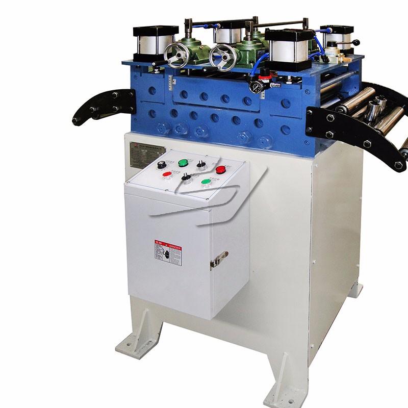 Sheet metal flattener metal straightener leveler machine with good price
