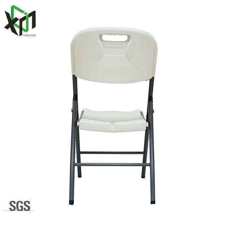 Amazon Venta caliente de plástico de Metal plegable al aire libre silla