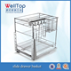 HOT SALE Stainless steel kitchen cabinet wire cooking basket VT-09.488