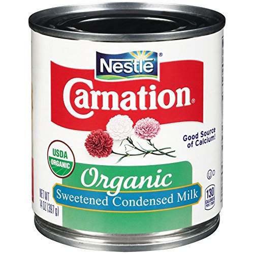 Carnation Organic Sweetened Condensed Milk, 14 Fluid Ounce