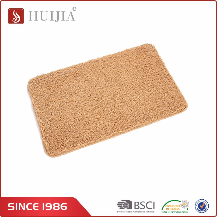Huijia China Supplier Custom Polyester Entrance Mat Floor