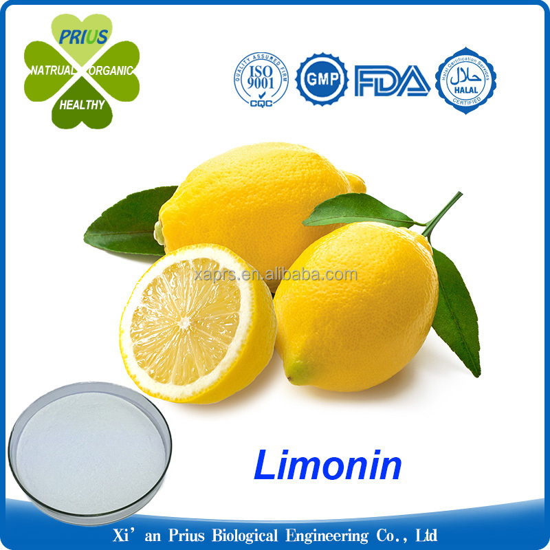 Hot sale Natural Dried Lemon peel Extract Powder Limonin 98%