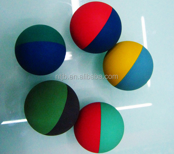 Cheap High Bouncing 6cm Fitness Rubber Squash Ball