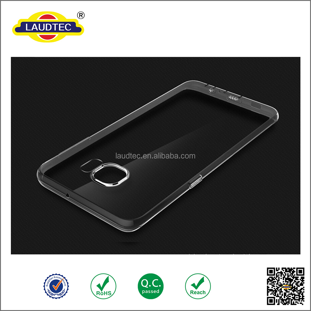 clear tpu case Crystal Clear Transparent Soft 0.3mm TPU Case for S6 edge plus Cases Cover