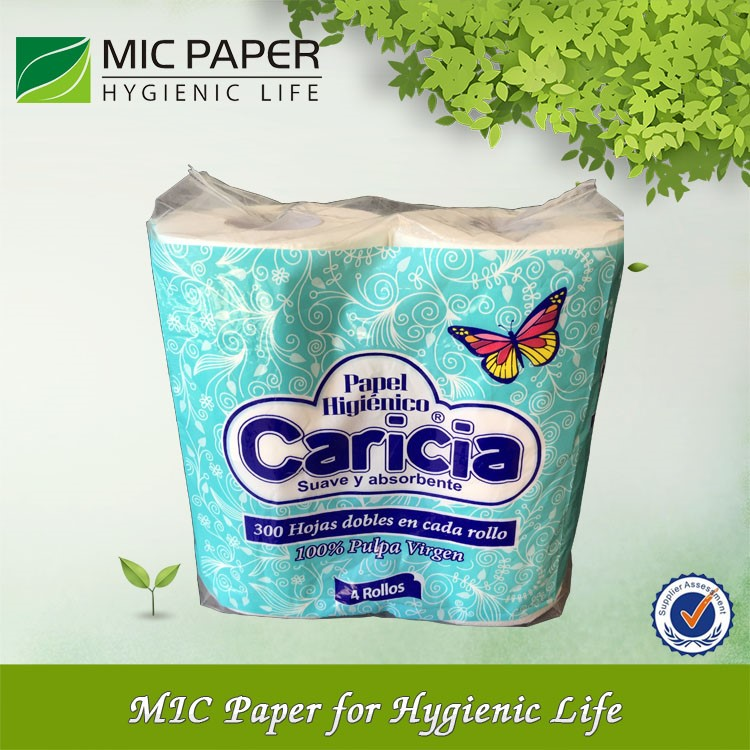 Cellulose Paper Roll Toilet Tissue