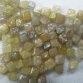 Lot of 5.0 carat (2.0 mm to 3.0 mm) natural rough / uncut congo cube diamonds