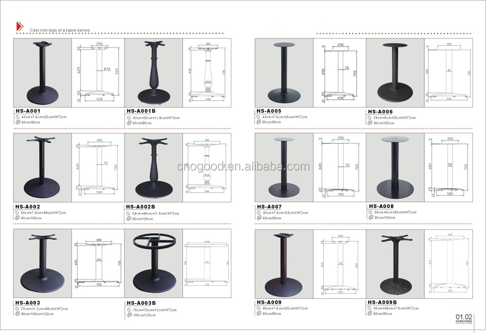 Iron Or New Design Wood Table Leg Extenders