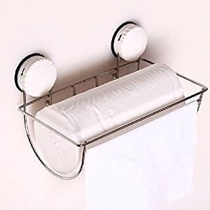 roll holder bathroom suction wall strong suction cup paper towel holder Stainless steel toilet paper holder hand cartons box bathroom tissue Holder Box Bathroom Accessories Box creative kitchen reel spools box basket