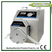 Exported stepper dc small peristaltic pump,hot sell pump for seed coating machine