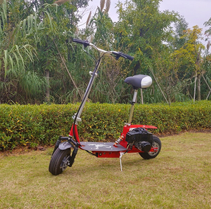 china CE Foldable 2 stroke 49cc gas scooter stand up