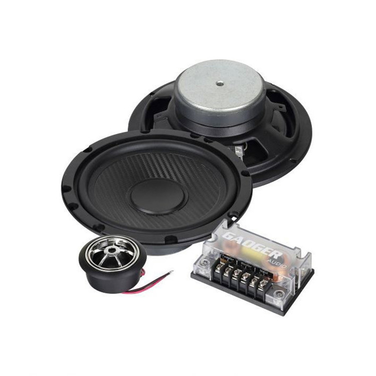 Factory Direct Sale Wholesale 12V 120W 6.5 Inch 2 Way Auto Audio Component Speaker