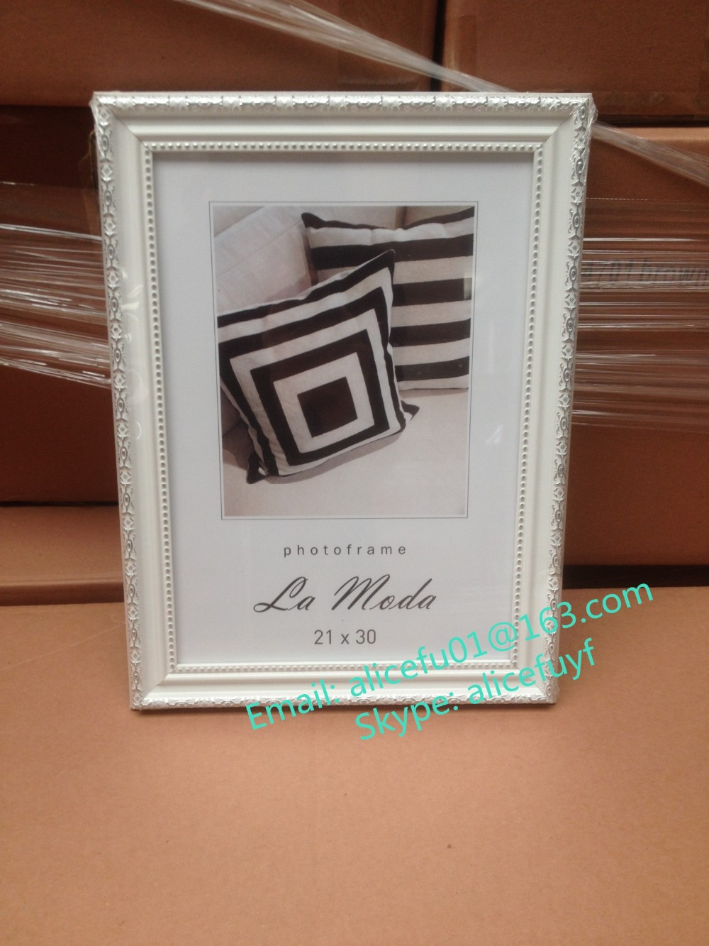 Wholesale White Baroque Photo Picture Frame 4x6 5x7 6x8 8x10 10x12 ...