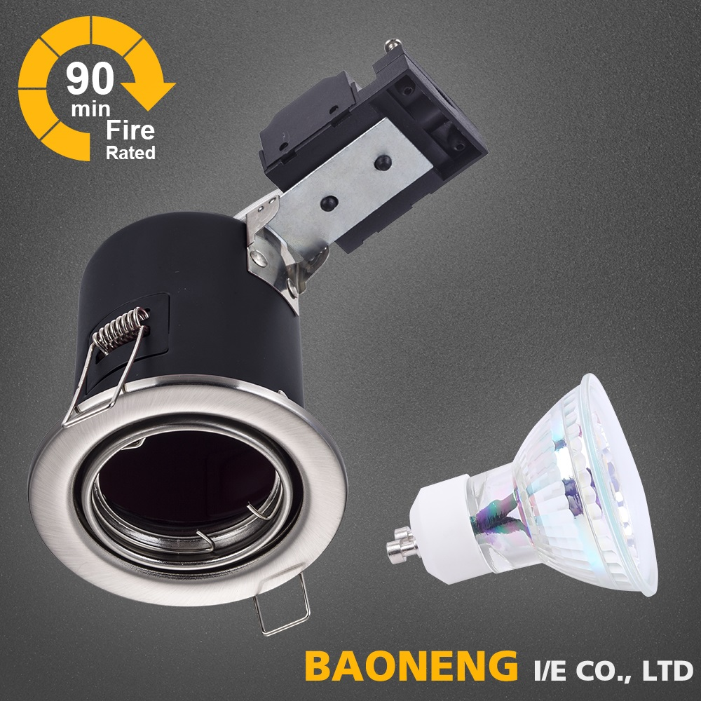 Fire Rated LED GU10 Downlight Fitting Ceiling Spotlights Lights