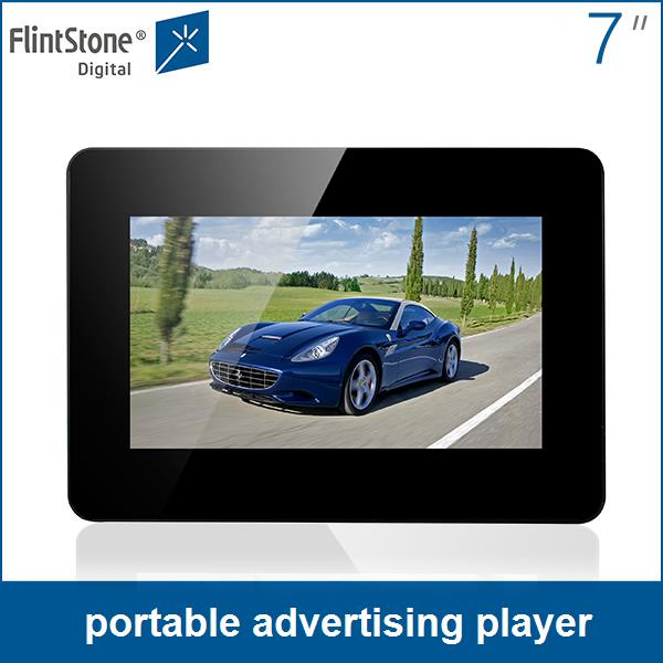 Flintstone cheap price 7 inch mini portable video player advertising screen