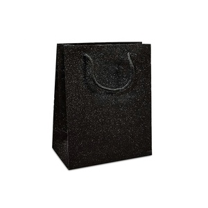 Glitter paper shopping bag,gift bag with handle