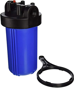 "10"" 20"" standard blue cartridge filter housing"