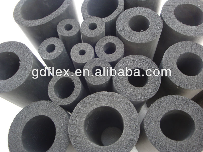 epdm insulation pipe closed cell foam tube