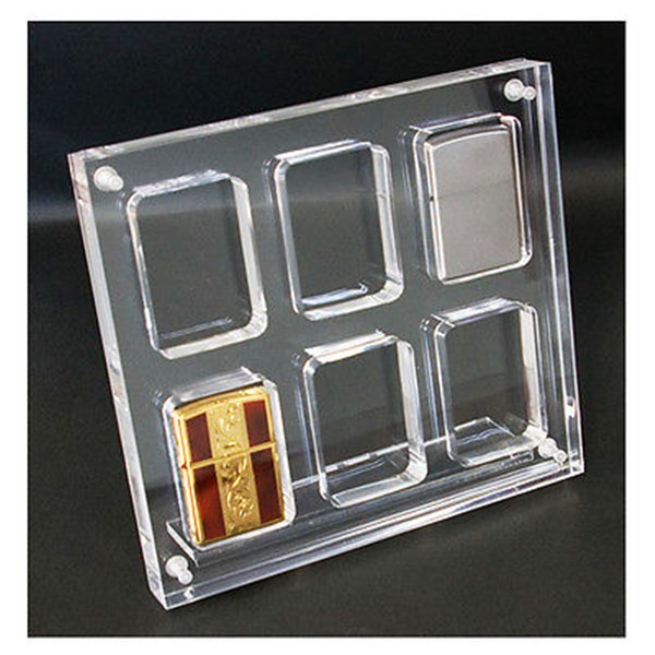 Hot Sale Acrylic Display Stand For Zippo Lighter