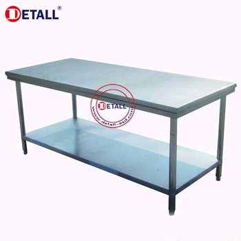 Detall Stainless Steel Work Table For Workshop Buy Work Table - Tall stainless steel table