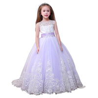 princess little girls dresses fancy girls birthday party dresses full length kids ball gown flower girls pageant dress
