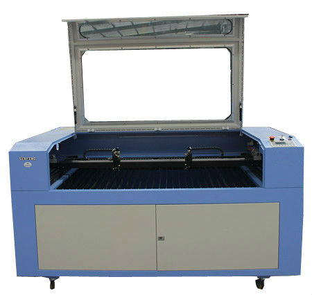 Acrylic and plywood CO2 laser <strong>cutting</strong> and engraving machine with rotary turntable SF 1410