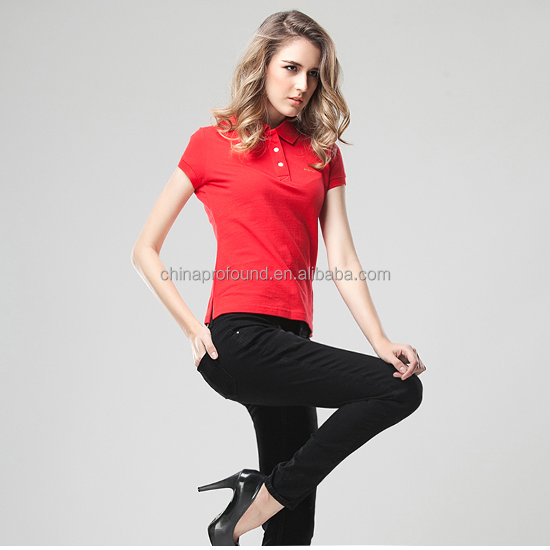 blank polo shirt wholesale China fashion t shirts custom colors designs womens  polo brand shirts e1750c494