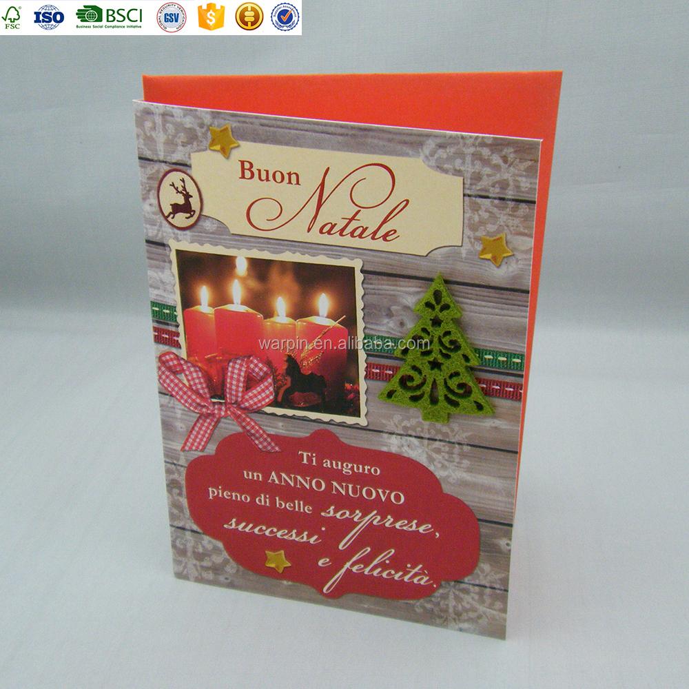Good Quality Christmas Handmade Italian Greeting Cards Wholesale ...