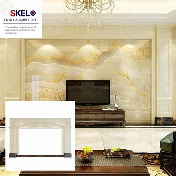 Home Decor Tv Background Wall Marble