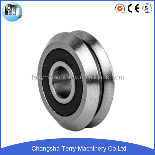 v groove track roller bearing LV20/7ZZ for linear motion guide rail
