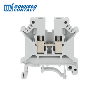 JUK 5N Screw Connector Din Rail Mounted CE Terminal Blocks