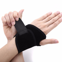 Wrist Brace protector Fitted Right / Left Thumb Stabilizer Wrist Wraps Compression Support One Size Adjustable