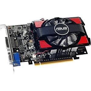 "Asus Gt740. 2Gd3. Csm Geforce Gt 740 Graphic Card . 2 Gb Ddr3 Sdram . Pci Express 3.0 . Fan Cooler . Directx 11.1, Opengl 4.4 . Dvi ""Product Type: Video Cards/Graphic Cards"""