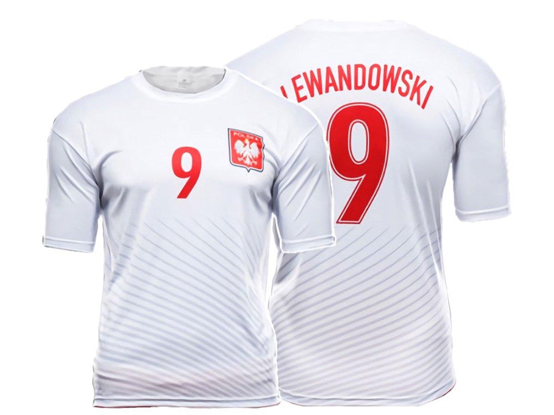 0647617dc Youth Kids Polska Zulla Sport Polish Soccer Jersey Poland National Pride  White Red