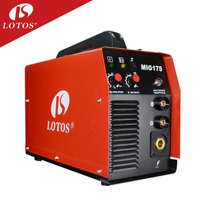 Lotos MIG175 IGBT DC Inverter High Frequency Heavy Duty Digital Synergic CO2 Gas TIG/ARC/MIG/MAG Twin Pulse Aluminum Welder
