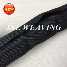 China Supplier Black Nylon Mesh self-close plastic cable sleeve for protecting cable wire