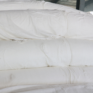 Double side heat set geotextile core gravel compound geomembrane with nonwoven