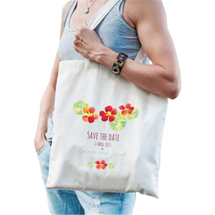 Wholesale fashion custom printed <strong>eco</strong> tote bag