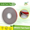Permanent bonding acrylic adhesive circle double sided foam tapes