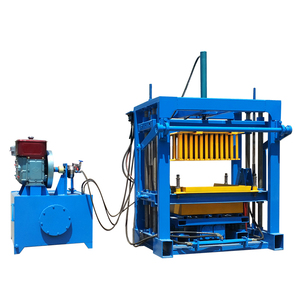 6 inches hollow block making machine QT4-30