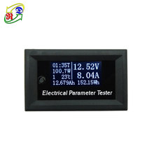 RD 100V10A 7in1 OLED display Voltage Current Time Capacity Ammeter Electrical battery Digital Voltmeter Multimeter Tester