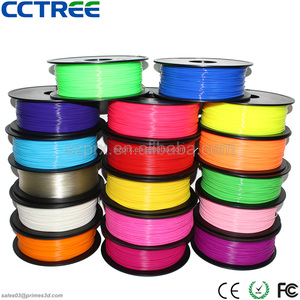 CCTREE Shenzhen factory ABS PLA PC POM HIPS NYLON WOOD PETG 1.75 2.85 3.0 3d filament