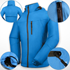 Best cheap oem outdoor heated warm active mens fashion winter snow custom crane wholesale waterproof ski jacket