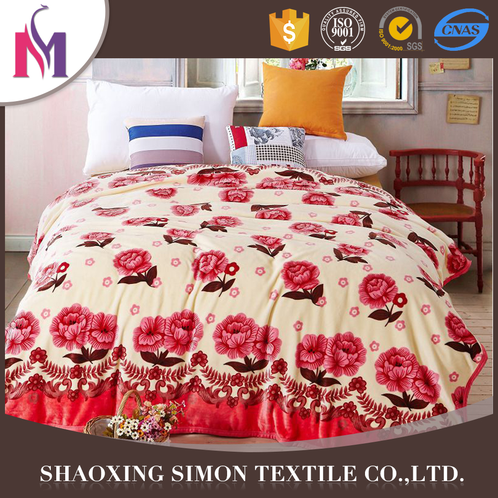Fashion Knitted Blanket Wholesale Royal Mink