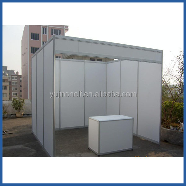 Exhibition Booth Reference : Standard aluminum exhibition display shell scheme