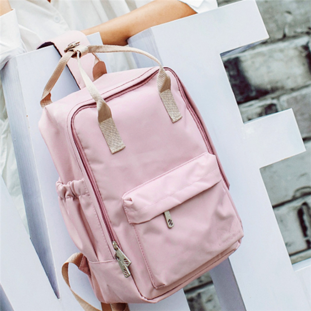 Osgoodway New Products Fashion Korean Style Waterproof Cute Ladies School Bag for College