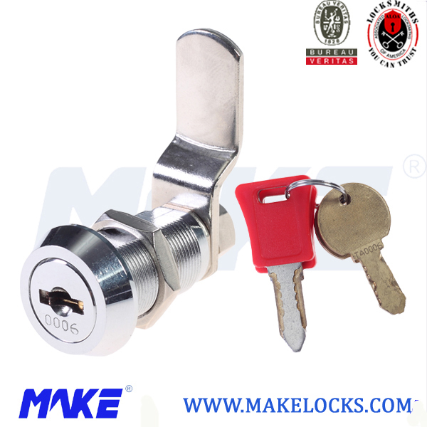 changeable code lock with bending cam