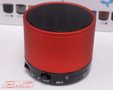 S10 BT 3.0+EDR Wireless small round Mini metal Speaker