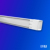 LED Batten LED Linear 27W Tube fixture Clear and frosted 2ft 4ft