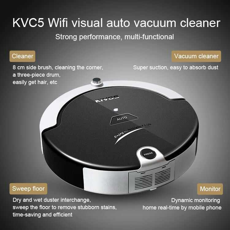 Family clean solar vacuum cleaner KVC5 for window vacuum cleaner